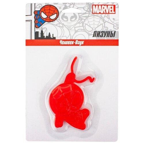 Фото - Лизун 1 TOY Marvel Человек-Паук Т16657 красный ледянка 1 toy человек паук т59096 красный синий