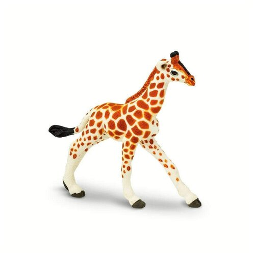 Фото - Фигурка Safari Ltd Wildlife Детёныш сетчатого жирафа 268529 фигурка safari ltd wildlife детёныш жирафа 100422