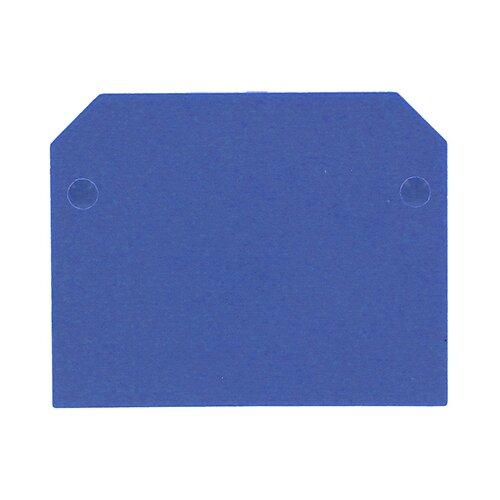 Фото - Торцевая и разделительная пластина (изолятор) для клеммного блока EKF sak-2.5-35b sak 2 80