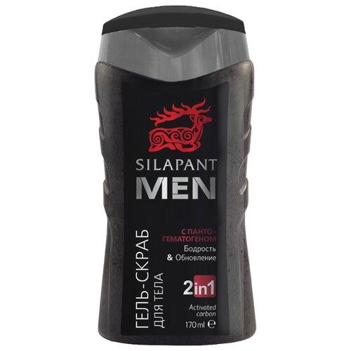 Купить Гель-скраб для мужчин Silapant MEN Бодрость и обновление с пантами марала, 170 мл