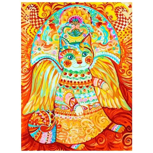 Фото - Картина по номерам Солнечный кот, 30x40 см белоснежка картина по номерам солнечный кот 30х40 см 297 as