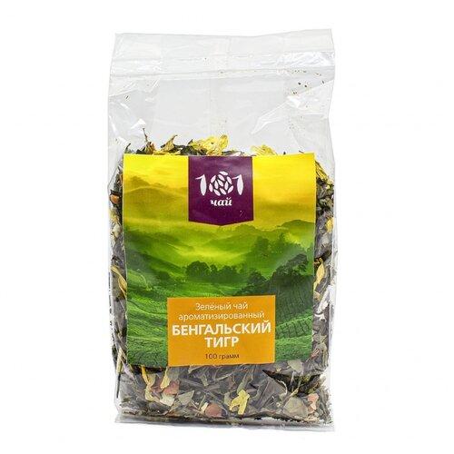 Чай зеленый 101 чай Бенгальский тигр , 100 г фото