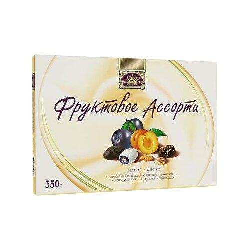Фото - Фруктовое ассорти Самарский кондитер, темный шоколад, сахарная глазурь, кешью, 350 г сахарная глазурь парфэ белая 120 г