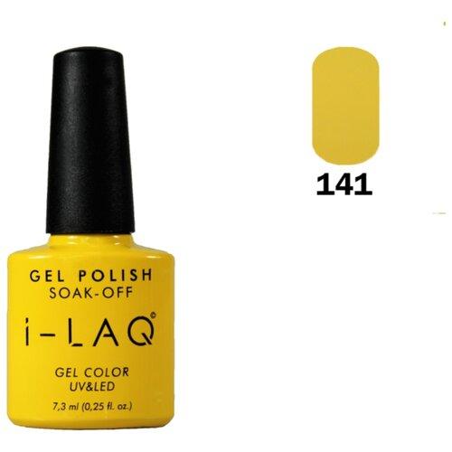Гель-лак для ногтей I-LAQ Gel Color, 7.3 мл, оттенок 141 i laq гель лак 005