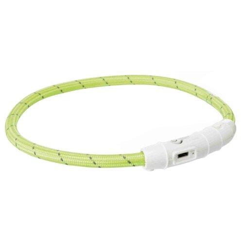 Ошейник TRIXIE USB Flash Light M-L 12691-12707 45 см зеленый