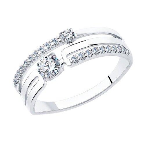 SOKOLOV Кольцо из серебра 94013090, размер 18 по цене 1 590
