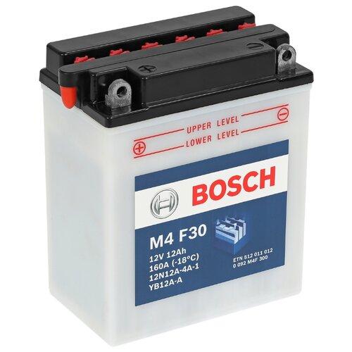 Мото аккумулятор Bosch M4 F30 (0 092 M4F 300)