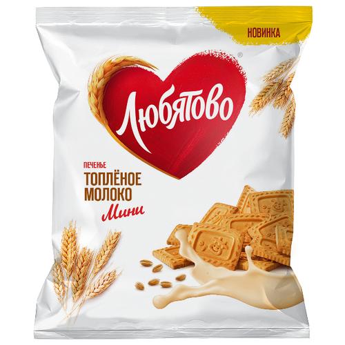 Печенье Любятово Топленое молоко мини, 230 г черемушки мини бамбини сахарное печенье какао 150 г page 3