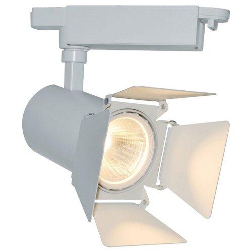 Трековый светильник-спот Arte Lamp Track Lights A6730PL-1WH светильник потолочный arte lamp track lights a5319pl 1wh 4650071254237