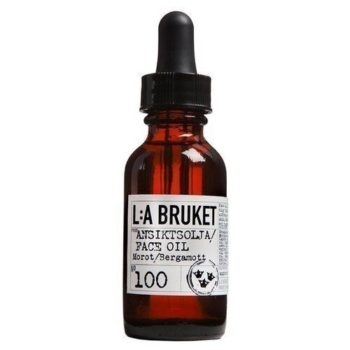 Фото - L:A BRUKET Face Oil Carrot/ Bergamot 100 Масло для сухой кожи лица, 30 мл l a bruket facial toner and refresher no 099 chamomile bergamot