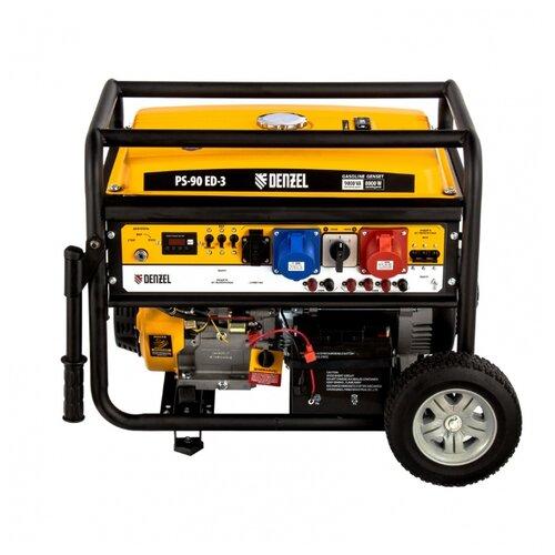 Бензиновый генератор Denzel PS 90 ED-3 (7000 Вт)