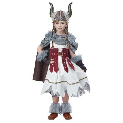 Купить Костюм California Costumes Доблестный викинг 00532, белый/красный/серый, размер XL (12-14 лет), Карнавальные костюмы