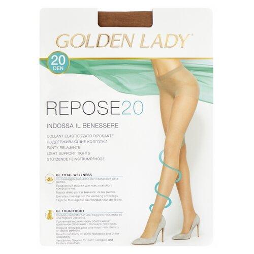 цена Колготки Golden Lady Repose 20 den, размер 4-L, melon (бежевый) онлайн в 2017 году