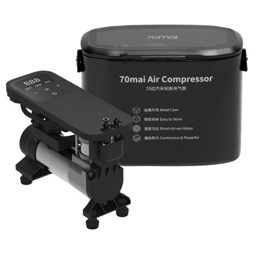 Автомобильный компрессор Xiaomi 70mai Air Compressor (Midrive TP01), чёрный