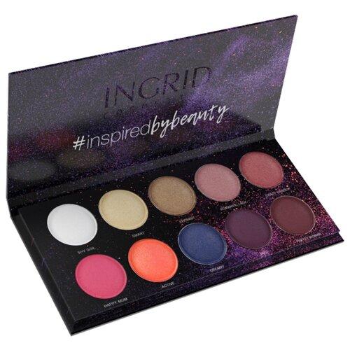 Ingrid Cosmetics Палетка теней Matt and Glam colors недорого