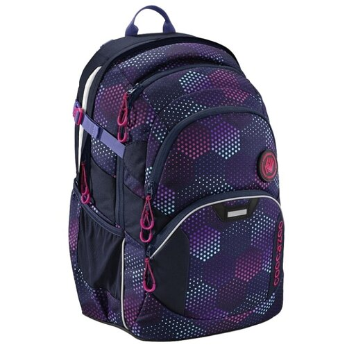 Coocazoo Рюкзак JobJobber2 Purple Illusion (00183623), синий / фиолетовый coocazoo рюкзак jobjobber2 bartik 00138718 зеленый розовый