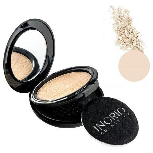 Ingrid Cosmetics Пудра компактная Idealist 01 eldan cosmetics официальный отзывы
