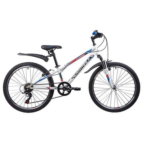 Фото - Подростковый горный (MTB) велосипед Novatrack Extreme 24 6 (2019) белый 10 (требует финальной сборки) велосипед novatrack racer черный 24 рама 10