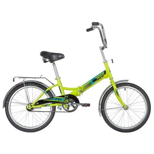 Фото - Подростковый городской велосипед Novatrack TG-20 Classic 201 (2020) зеленый (требует финальной сборки) городской велосипед elops 520