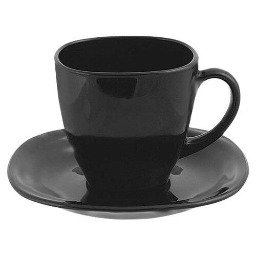 Чайный сервиз Luminarc Carine 220 мл, 6 персон black