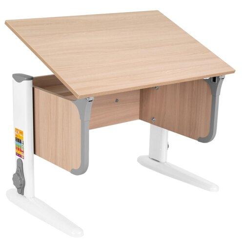 Купить Стол ДЭМИ СУТ-48 50x75 см ясень/серый/белый, Парты и столы
