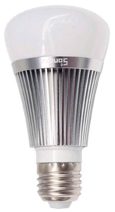 Лампа светодиодная Sonoff B1 silver, E27, 6Вт фото 1