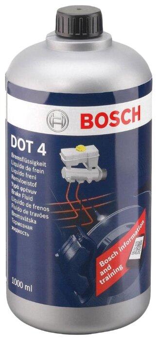 Тормозная жидкость BOSCH DOT 4, Brake Fluid 1 л