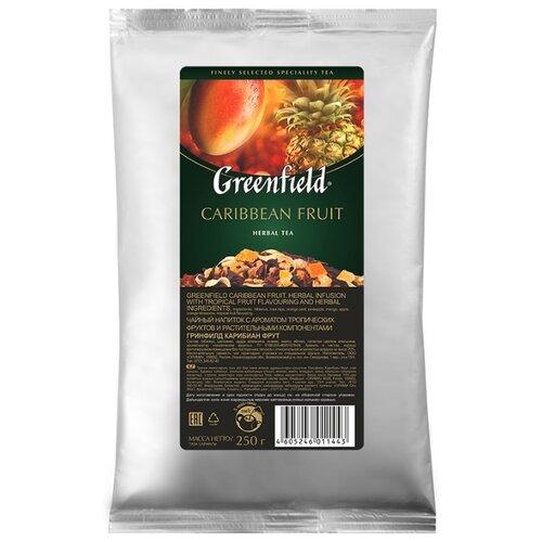 Фото - Чайный напиток фруктовый Greenfield Caribbean Fruit, 250 г фруктовый чайный напиток вишневый пунш 100 г