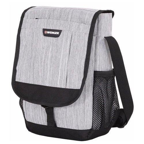 сумка планшет victorinox текстиль синий Сумка планшет WENGER, текстиль, светло-серый