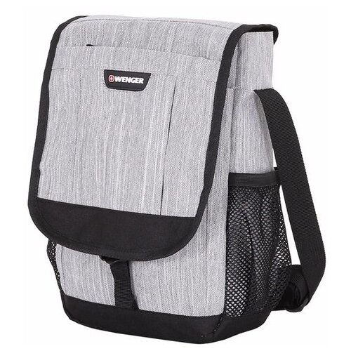 сумка планшет wenger текстиль светло серый Сумка планшет WENGER, текстиль, светло-серый