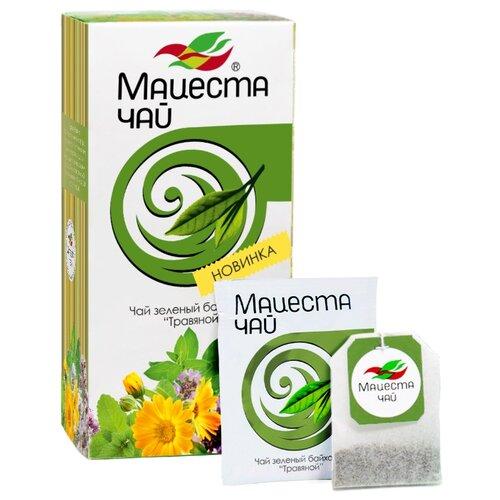 Чай зеленый Мацеста Травяной в пакетиках, 20 шт. фото