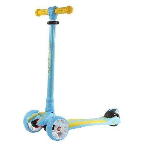 Детский кикборд Larsen Multy, blue/yellow по цене 2 830