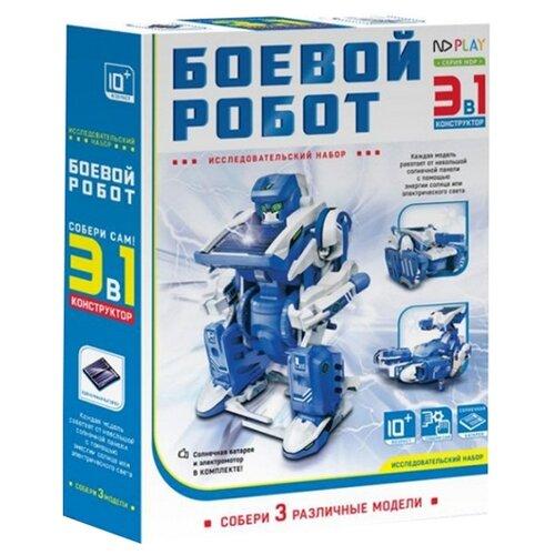 Электромеханический конструктор ND Play На солнечной энергии 265614 Боевой робот 3 в 1 конструктор nd play nd play mp002xu02g3a