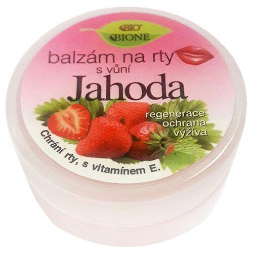 Bione Cosmetics Бальзам для губ Клубника solomeya бальзам для губ полноразмерный продукт