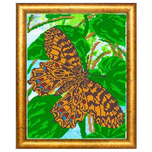 Светлица Набор для вышивания бисером Бабочка 24 х 30 см, бисер Чехия (226)