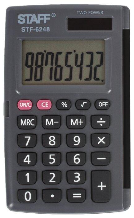 Калькулятор карманный STAFF STF-6248