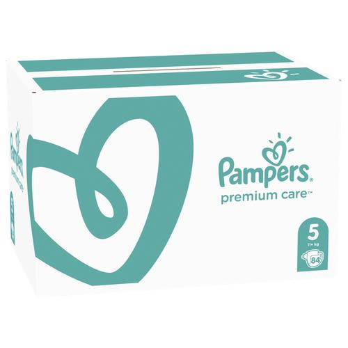 Купить Pampers подгузники Premium Care 5 (11+ кг) 84 шт., Подгузники