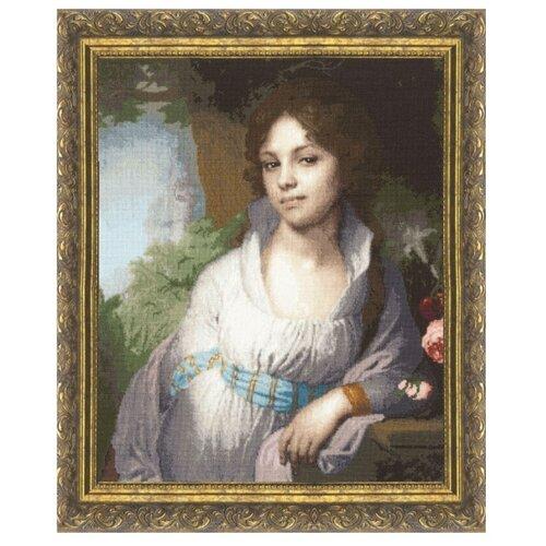 Фото - Золотое Руно Набор для вышивания Портрет Лопухиной 46 х 37,4 см (МК-010) набор для вышивания золотое руно гм 037 булгаковская осень