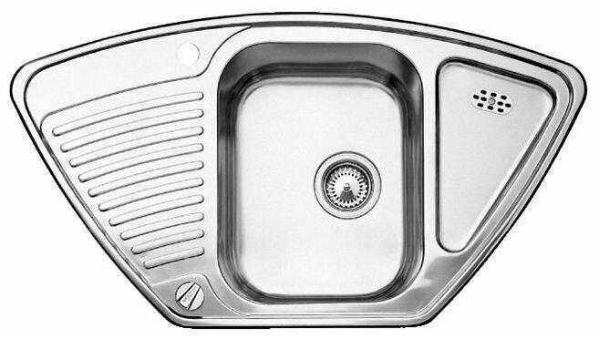 Врезная кухонная мойка Blanco Tipo 9E 93х51см нержавеющая сталь
