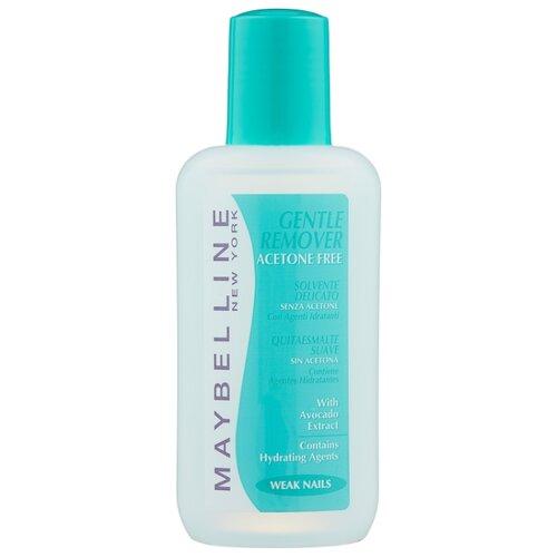Maybelline New York Жидкость для снятия лака Gentle Remover с экстрактом авокадо без ацетона 125 мл