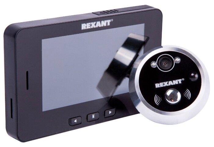 Видеоглазок дверной REXANT, с функцией записи видео/фото по движению, ночной режим работы