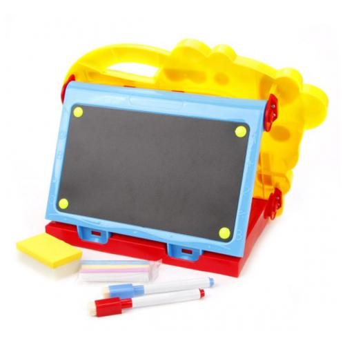 Купить Доска для рисования детская Наша игрушка 628-60 желтый/синий/красный, Доски и мольберты