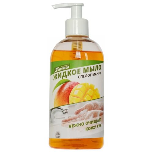 Купить Мыло жидкое Syntheco Спелое манго, 500 мл