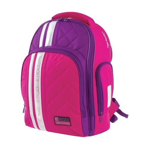 TIGER FAMILY Рюкзак Rainbow, розовый/фиолетовый tiger family пенал rainbow butterfly 228885 розовый