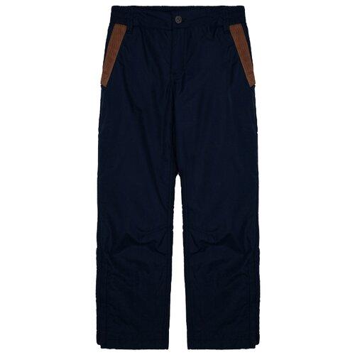 Купить Брюки Gulliver размер 146, синий, Полукомбинезоны и брюки