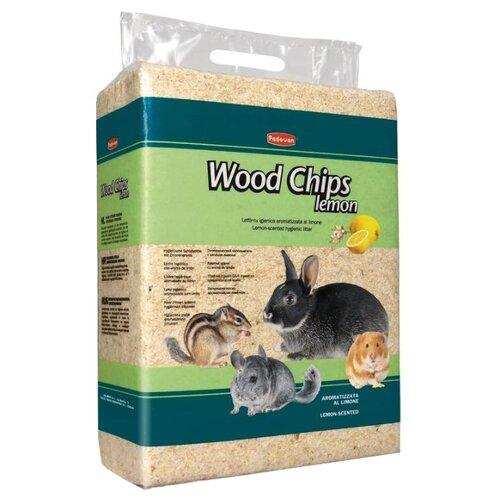 Наполнитель древесный Padovan Wood Chips Lemon 4 кг/56 л