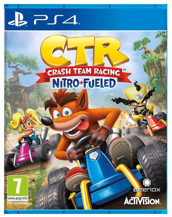 Activision Crash Team Racing Nitro-Fueled
