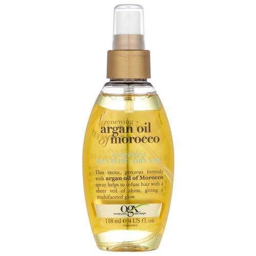 OGX Легкое сухое аргановое марокканское масло для восстановления волос, 118 мл orofluido ультра легкое сухое масло light shimmering elixir 55 мл