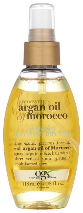 OGX Легкое сухое аргановое марокканское масло для восстановления волос