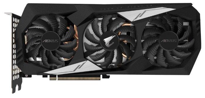 Видеокарта GIGABYTE GeForce GTX 1660 Ti 1890MHz PCI-E 3.0 6144MB 12000MHz 192 bit HDMI HDCP AORUS